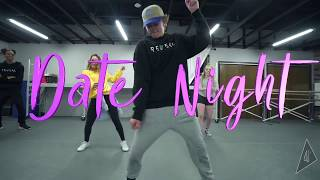 Chris Brown- SAME TIME (Date Night) // AJ Choreography
