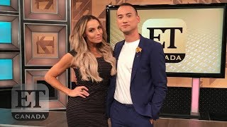Trish Stratus on ET Canada (Oct 2018)