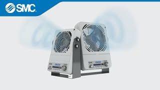 Smc 180 S New Product Video Izf Series Fan Type Ionizer