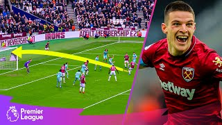 Declan Rice scores FIRST Premier League goal v Arsenal | Classic goals from MW29's fixtures