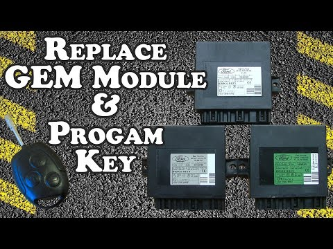 How to activate selective unlocking in Ford Focus MK1