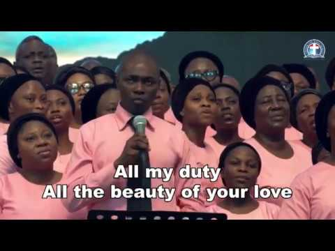 Adult Choir Ministration - Walk with me.