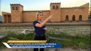 Record TV exibe cenários com alta produção da novela 'Jesus'