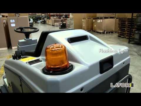 Yer Süpürücü-Lavor SWL 1000 iç ve dış alan süpürücü