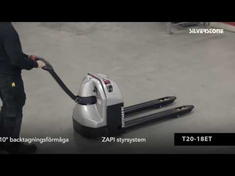 Stærk og hurtig fuld elektrisk palleløfter 1800 kg