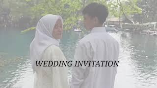Video Undangan Pernikahan / Video Prewedd
