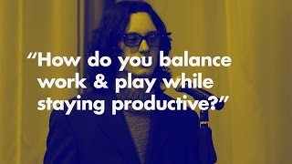 How do you balance work and life? | Otis College of Art and Design Students Ask Chris Do