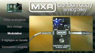 Mxr M169 Carbon copy analog delay - Video