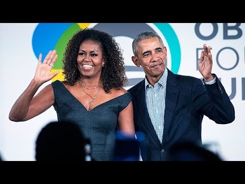 Barack Obama Says He Wants Daughters To 'Inherit' A 'Country That Respects Everyone' As Michelle Dig