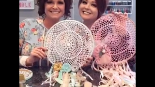 DIY Dreamcatchers with Midge and Madge