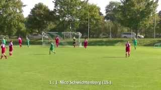 preview picture of video 'STORKOW/VIETMANNSDORF - E.HASSLEBEN 7:1 - Tore [A-Junioren-Kreisliga UM 2014/15 - 1.Spieltag]'