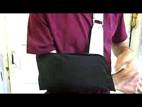 Повязка для фиксации руки, бандаж (разрыв акромиально-ключичного сочленения)