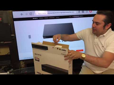 UNBOXING Sony UBP-X800 reproductor Blu-ray 4K HDR