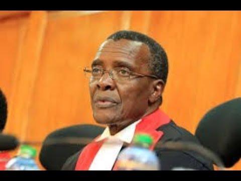 Justice Maraga asks Wafula Chebukati tough questions as proceeding begins