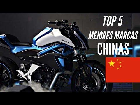 Las 5 MEJORES marcas de MOTOS CHINAS