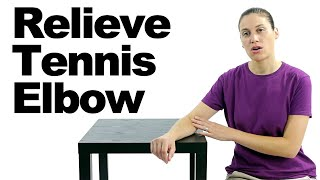 10 Best Tennis Elbow Exercises & Stretches - Ask Doctor Jo