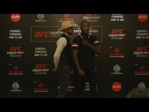 Le face à face de l'UFC Fight Night 132