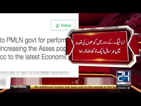 Imran Khan First Time Praising PMLN Government