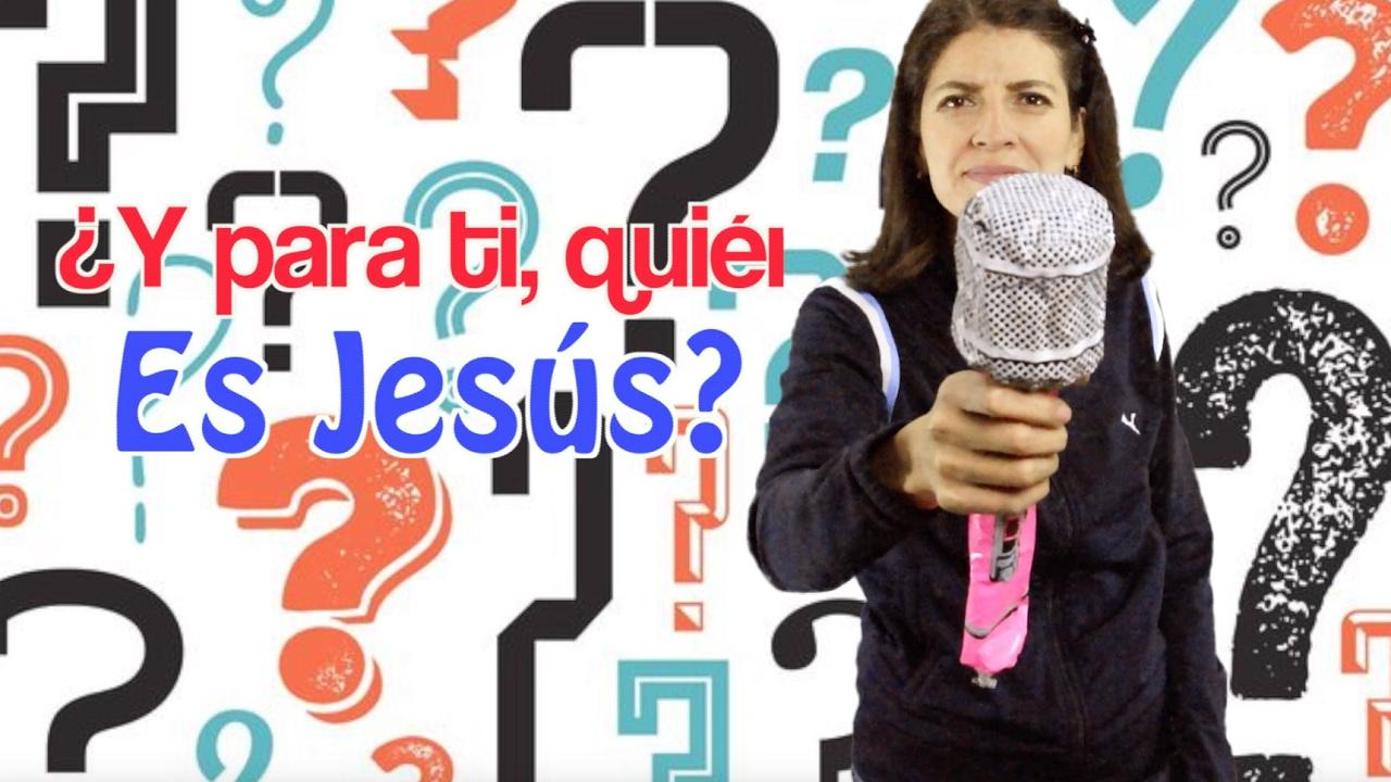 y para ti ¿Quién es Jesús?. Devocionales cristianos. Miss Nat. Amy & Andy
