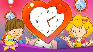 Thời gian cho bài tập về nhà. Đó là lăm mười. (Thời gian bài hát)