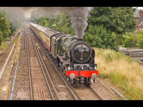A Royal Scot & Merchant Navy around the Surrey Hills Saturda…