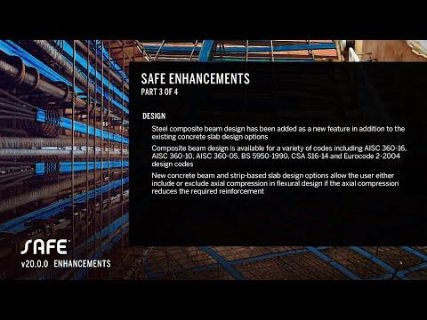 SAFE v20.0.0 Enhancements - Part III