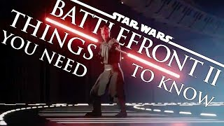 Star Wars: Battlefront 2 - 10 Things You NEED TO KNOW
