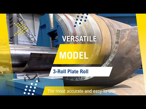 Variable geometry bending rolls - FACCIN 3 rolls HAV/D model