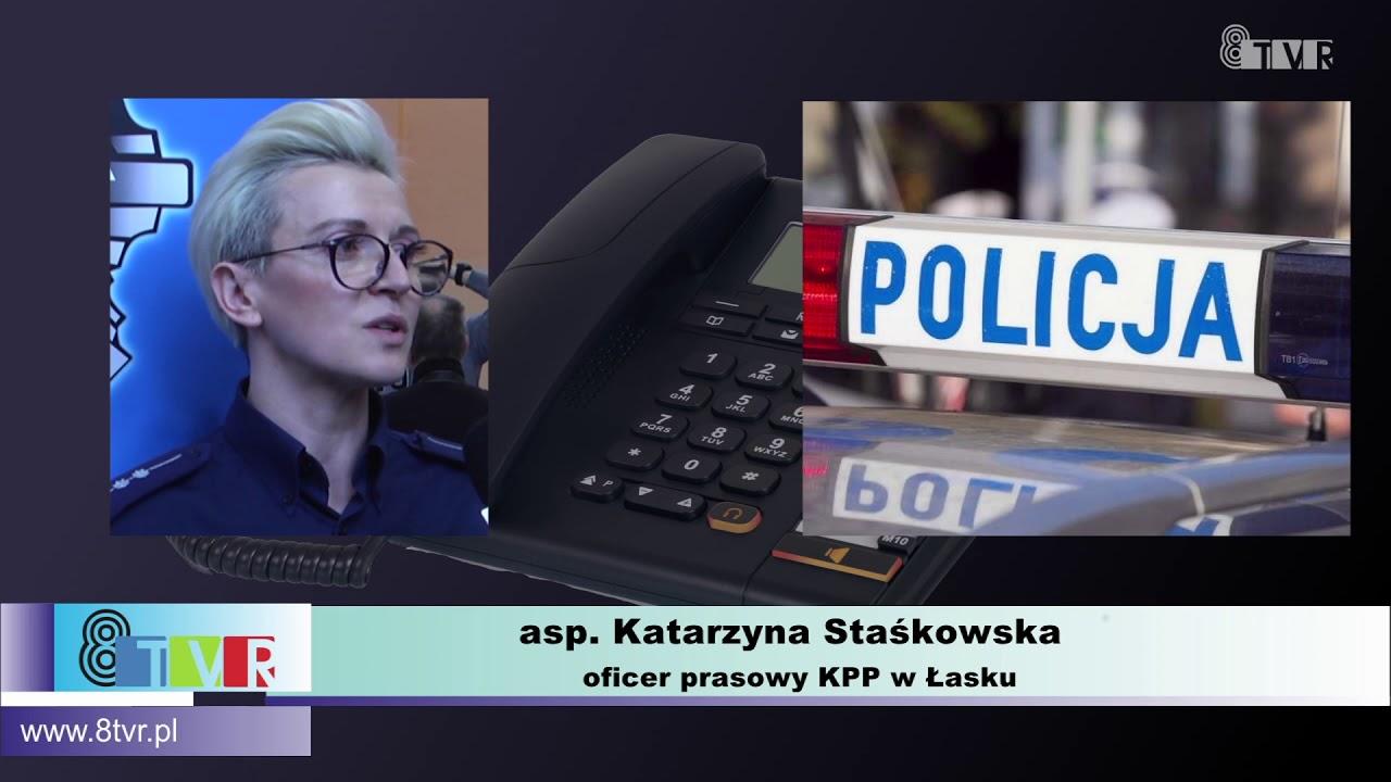 Informacja oficera prasowego KPP w Łasku
