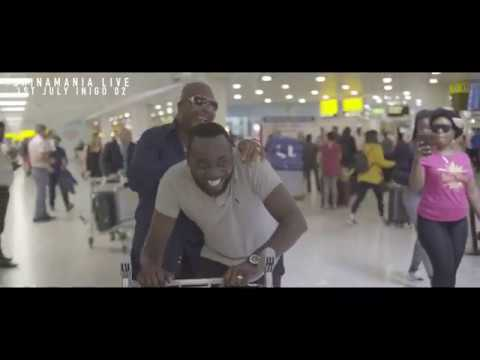 Shina Peters Arrives in London - ShinaMania LIVE in London on 1st July Indigo 02