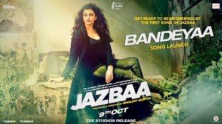 bandeyaa | official | song launch event | jazbaa   - YouTube