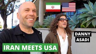 LA Musician Connecting Iran 🇮🇷 & USA 🇺🇸 (Danny Asadi)