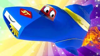 Детские мультики с грузовиками - Летний спецвыпуск - Каникулы в космосе - Супер Грузовик