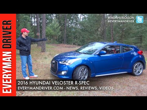 Review: 2016 Hyundai Veloster R-Spec on Everyman Driver