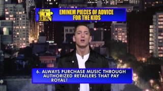 Eminem, Эминем даёт 10 советов детям (НА РУССКОМ)
