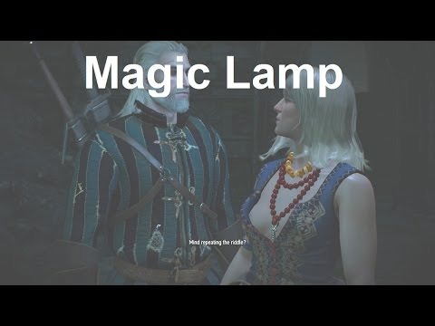 Light The Braziers In The Correct Order Magic Lamp The Witcher 3 Wild Hunt Auluftwaffles