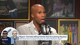 Jefferson: Carmelo would have to 'adjust his game' on Rockets | Jalen & Jacoby | ESPN