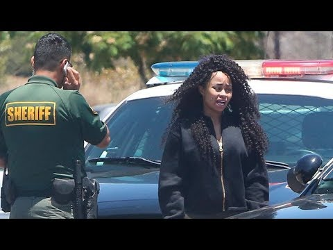 Blac Chyna Pulled Over And Rolls Royce Impounded By Malibu Sheriff [2014]