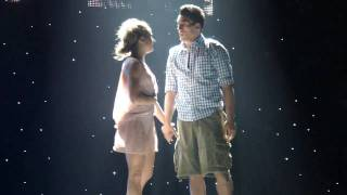 Allison & Robert in Travis Wall's 'Fix You' LIVE Opening Night
