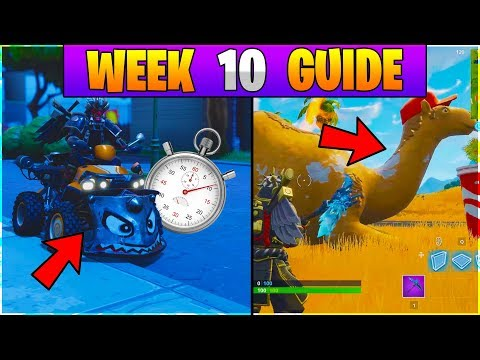 3 Easy Vehicle Time Trial Locations Fortnite Battle Royale Season