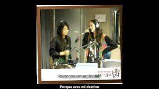 F(x) Luna & Krystal - You are my destiny [Sub español+Romanización+Eng Sub+Korean]