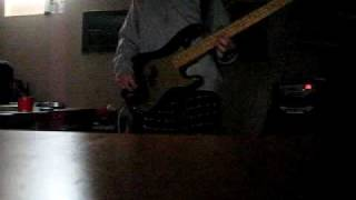 Face to Face - Graded on A Curve - Bass cover