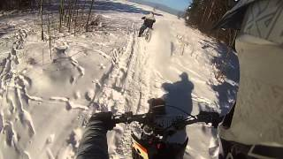 preview picture of video 'Enduro snow fan'
