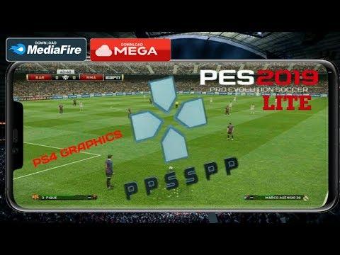 PES JOGRESS V4 1 MOD FIFA 19 HD GRAPHICS PSP ON ANDROID - смотреть