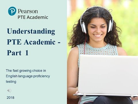 Test Taker guide to PTE Academic Part 1 - YouTube
