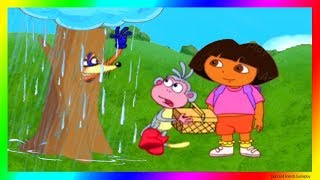 Dora the Explorer Games to play Cartoon 💖 Dora and the Rainy Day  Dora Buji In Tamil