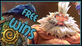 This deck just throws freewins at you! | Beast Hunter | Rise of Shadows | Hearthstone