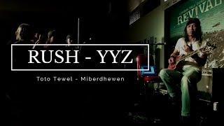 Toto Tewel - YYZ By RUSH Live At Antara