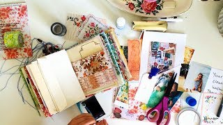Journal With Me | Using The Pages From Our Journals Zine || JANUARY