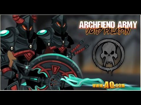 Aqw~ New VOID PALADIN Complete Armor Set!! - How to Get Void